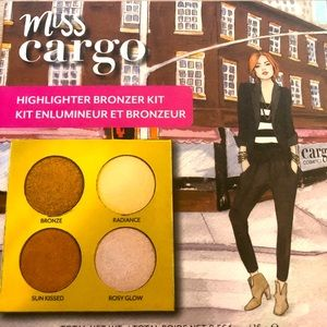Miss Cargo Cosmetics Highlighter Bronzer Kit
